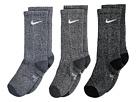 Nike Kids Performance Cushioned Dri-Fit Crew Training Socks 3-Pair Pack (Little Kid/Big Kid)