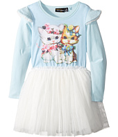 Rock Your Baby - Lulu & Lola Long Sleeve Circus Dress (Toddler/Little Kids/Big Kids)
