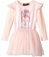 Rock Your Baby - Harlequin Long Sleeve Circus Dress (Toddler/Little Kids/Big Kids)