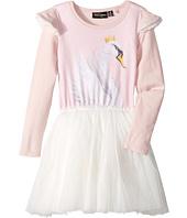 Rock Your Baby - Swan Lake Long Sleeve Circus Dress (Toddler/Little Kids/Big Kids)
