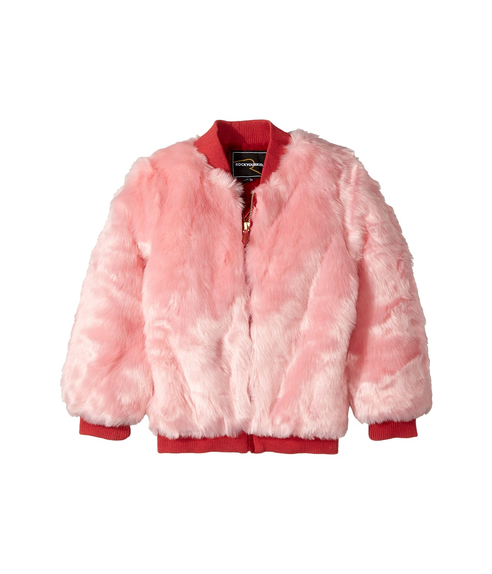Rock Your Baby Rock Your Baby - Debbie Faux Fur Bomber