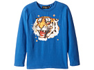 Rock Your Baby - Tiger Star Long Sleeve T-Shirt (Toddler/Little Kids/Big Kids)