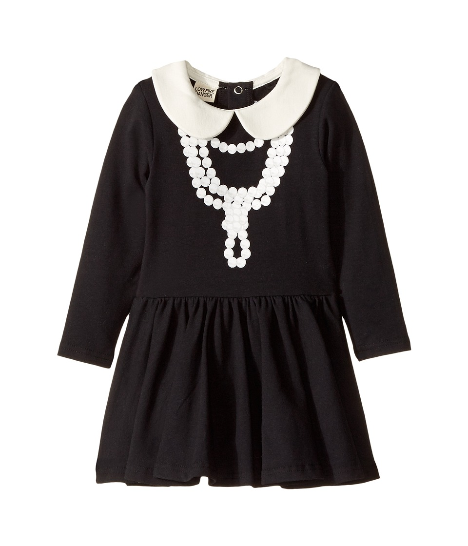 Rock Your Baby - Coco-Pearl Necklace Waisted Dress