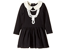 Rock Your Baby - Coco-Pearl Necklace Waisted Dress (Infant)