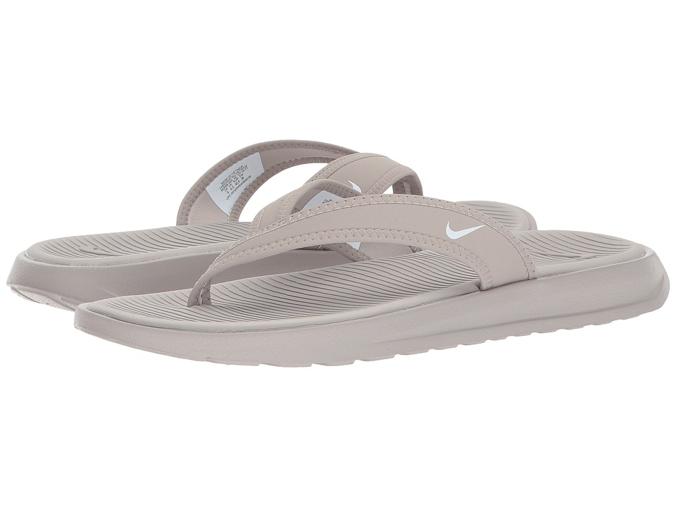 Nike Ultra Celso Thong (Cobblestone/White) Women's  Shoes