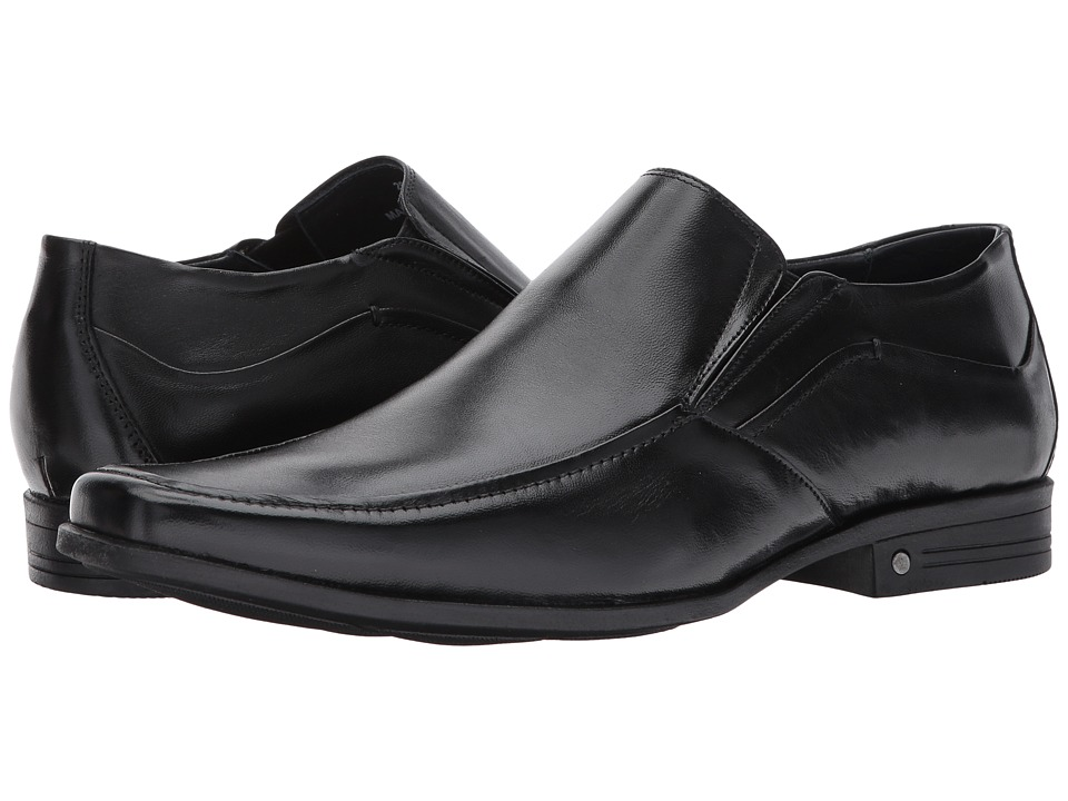 Massimo Matteo Moc Toe Slip-On (Black) Men