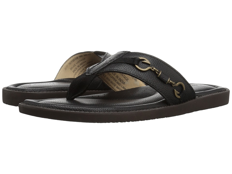 Tommy Bahama - Belize Vintage (Black) Men's Sandals