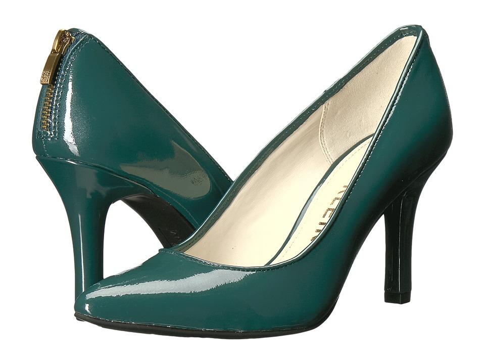 Anne Klein Falicia (Dark Green Patent) High Heels