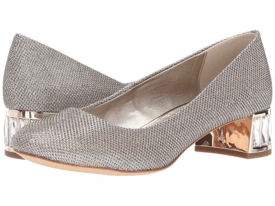 Anne Klein - Haedyn (Light Gold Fabric) Womens Shoes
