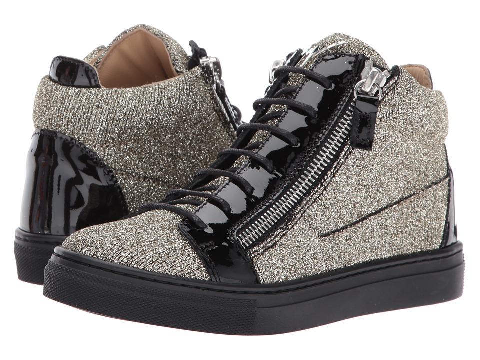 Giuseppe Zanotti Kids Natalie Sneaker (Toddler/Little Kid) (Oro) Girls Shoes