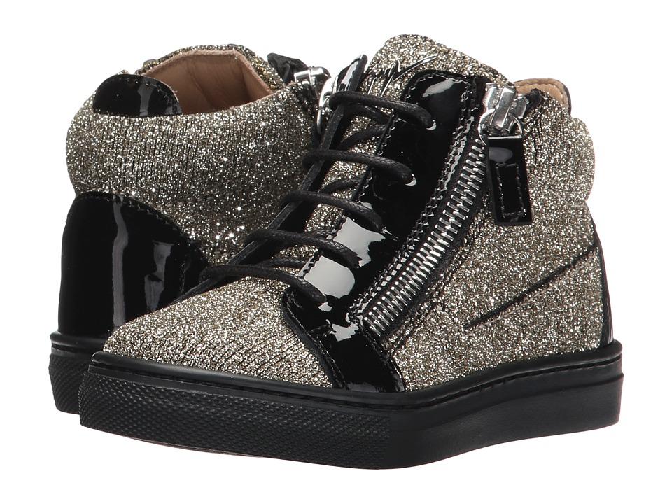 Giuseppe Zanotti Kids Natalie Sneaker (Toddler) (Oro) Girls Shoes