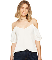 1.STATE - Cold Shoulder Puff Sleeve