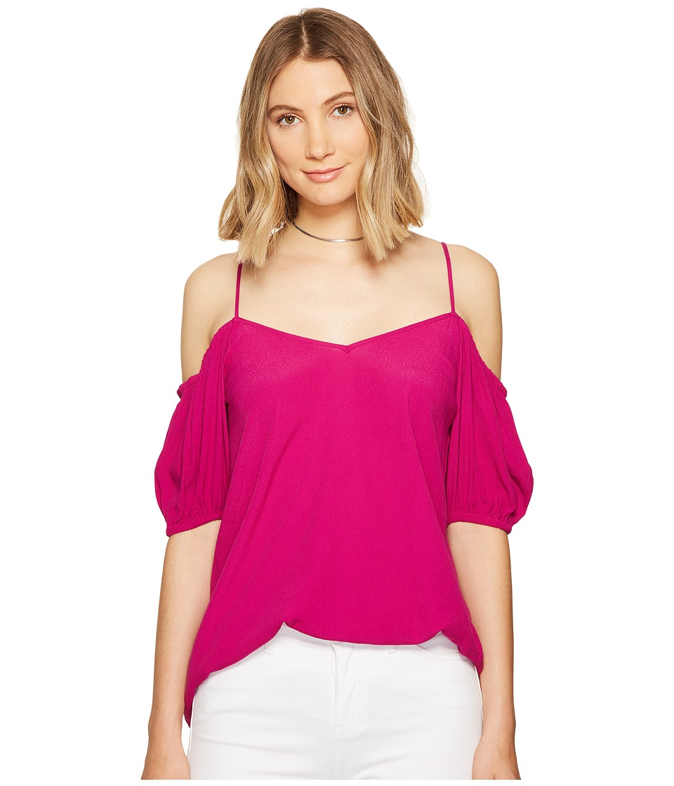 1.STATE 1.STATE - Cold Shoulder Puff Sleeve