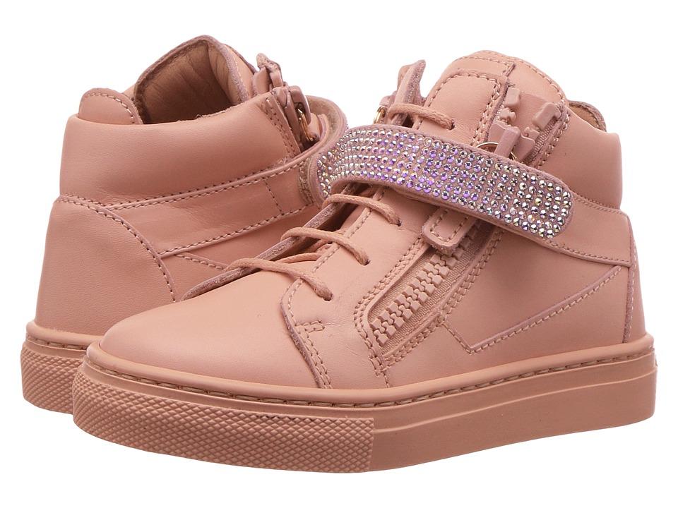 Giuseppe Zanotti Kids Birel Sneaker (Toddler) (Shell) Girls Shoes