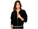 Juicy Couture - Velour Ruched Sleeve Jacket