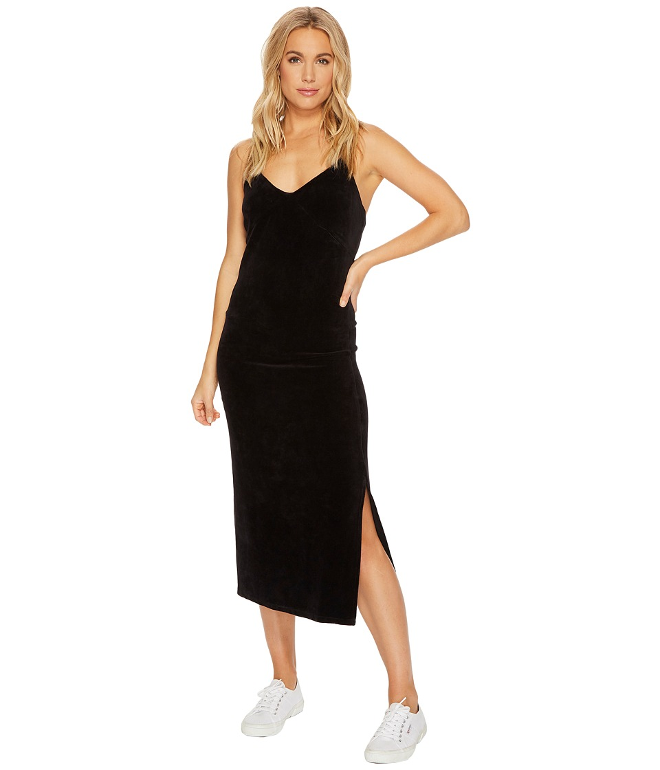 Juicy Couture - Stretch Velour Cross-Back Slip Dress