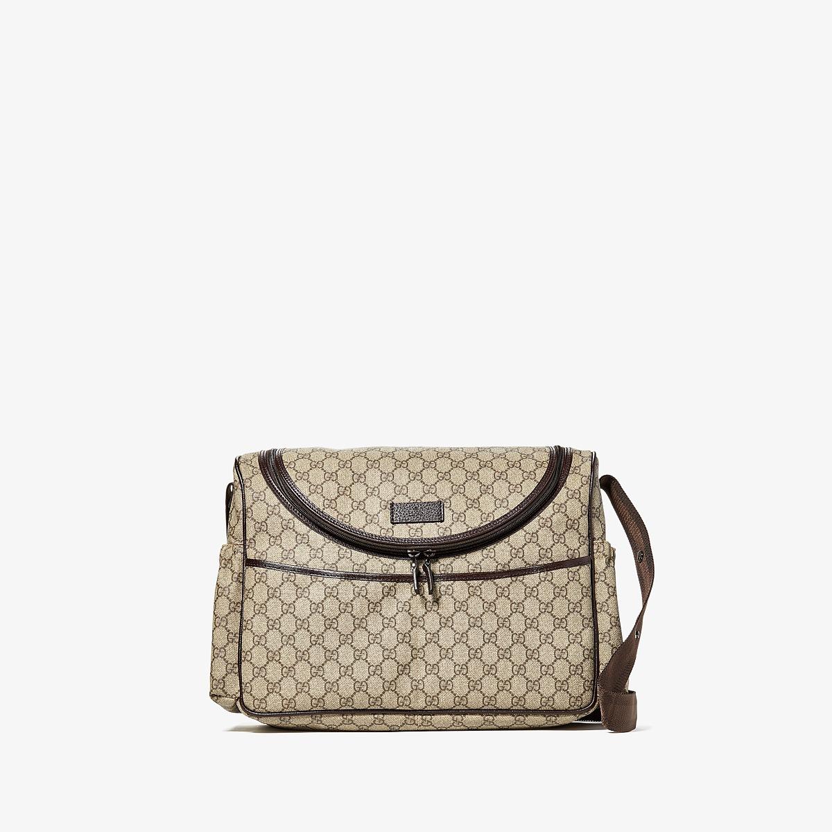 Gucci Kids - Handbag 123326K8K9R (Chocolate/Beige) Handbags