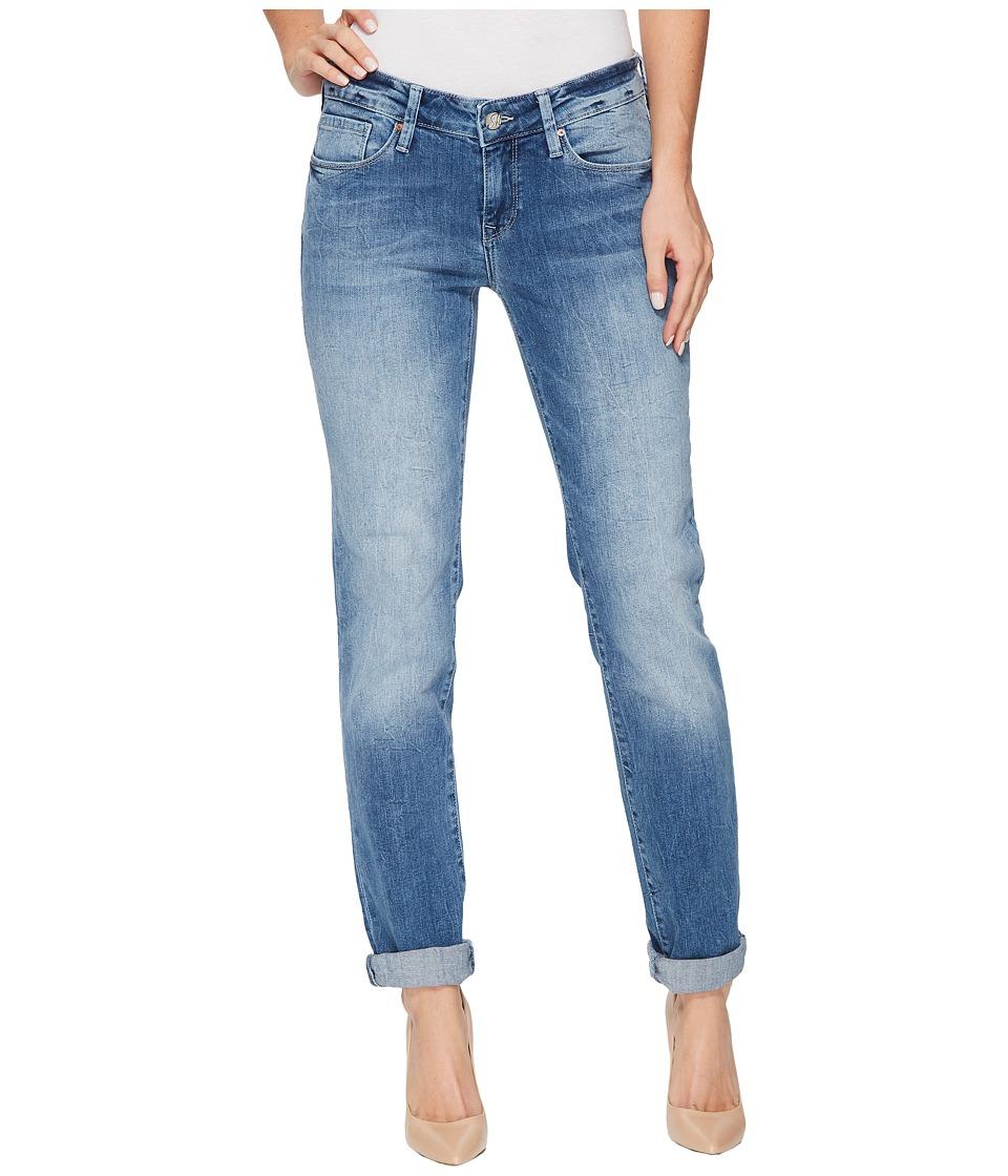 Mavi Jeans Emma Slim Boyfriend in Light Foggy Vintage (Light Foggy Vintage) Women