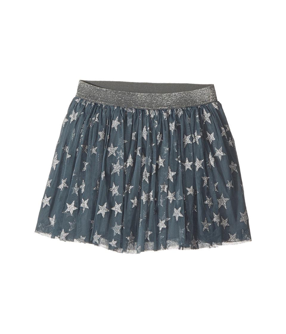 Stella McCartney Kids - Honey Glittered Star Tulle Skirt (Toddler/Little Kids/Big Kids) (Petrol) Girls Skirt