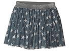 Stella McCartney Kids Stella McCartney Kids Honey Glittered Star Tulle Skirt (Toddler/Little Kids/Big Kids)