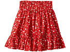 Stella McCartney Kids Twinkle Star Print Pleated Skirt (Toddler/Little Kids/Big Kids)