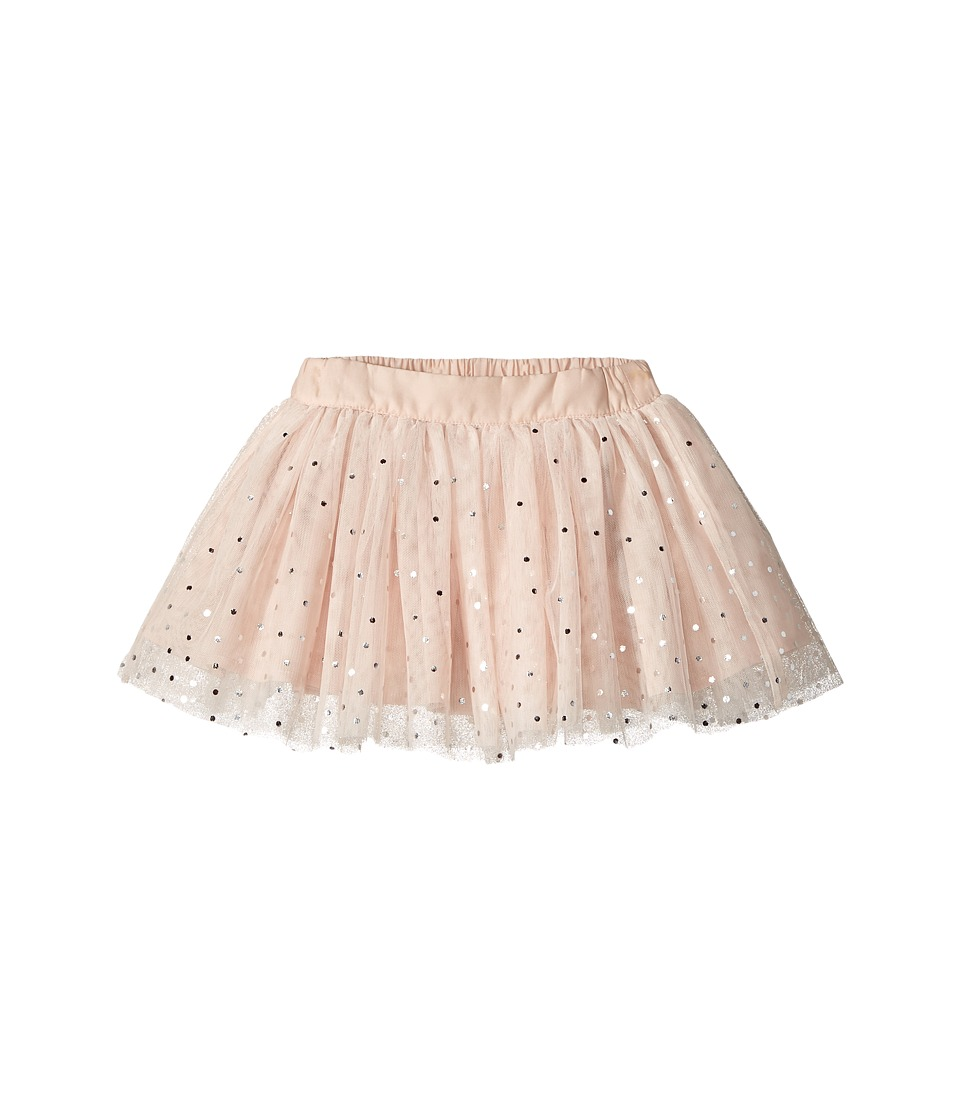 Stella McCartney Kids - Honey Tulle Skirt w/ Metallic Pola Dots