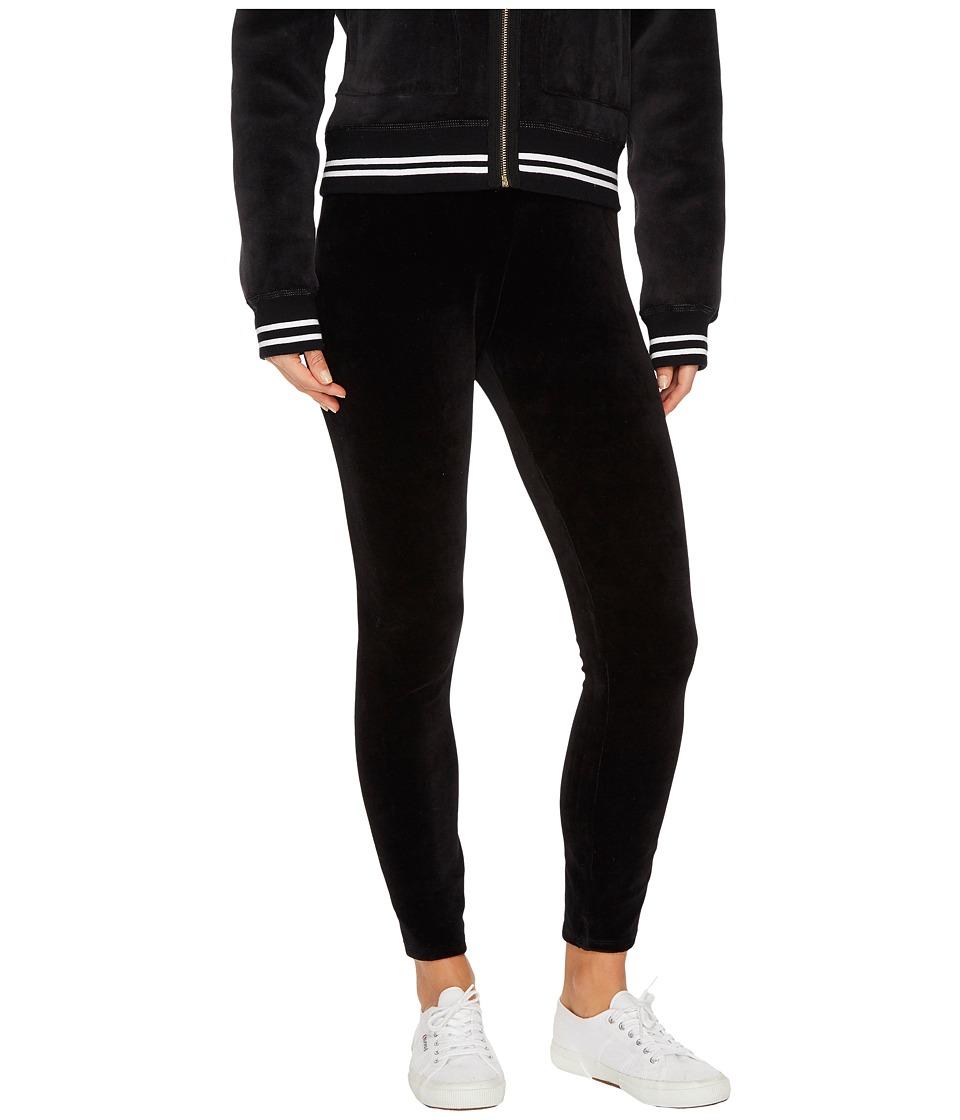 Juicy Couture - Stretch Velour Juicy Leggings