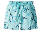 Vilebrequin Kids Danse Du Feu All Over Embroidery Swim Trunk (Toddler/Little Kids/Big Kids)