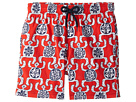 Vilebrequin Kids Primitive Turtles Swim Trunk (Big Kids)