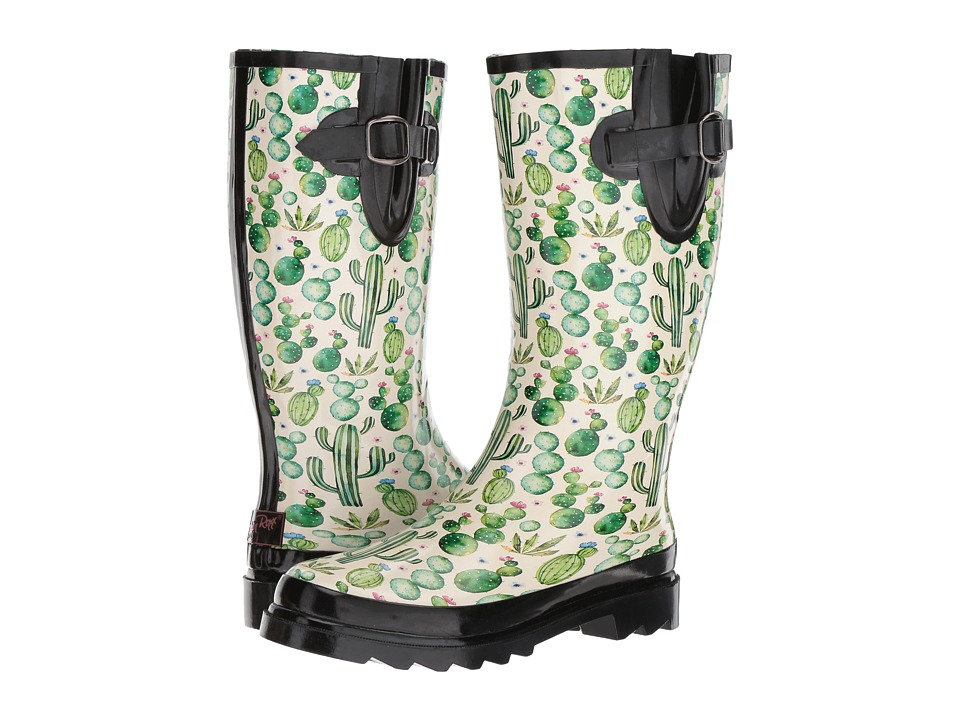 M&F Western Cacti (Black/Cream/Green) Women