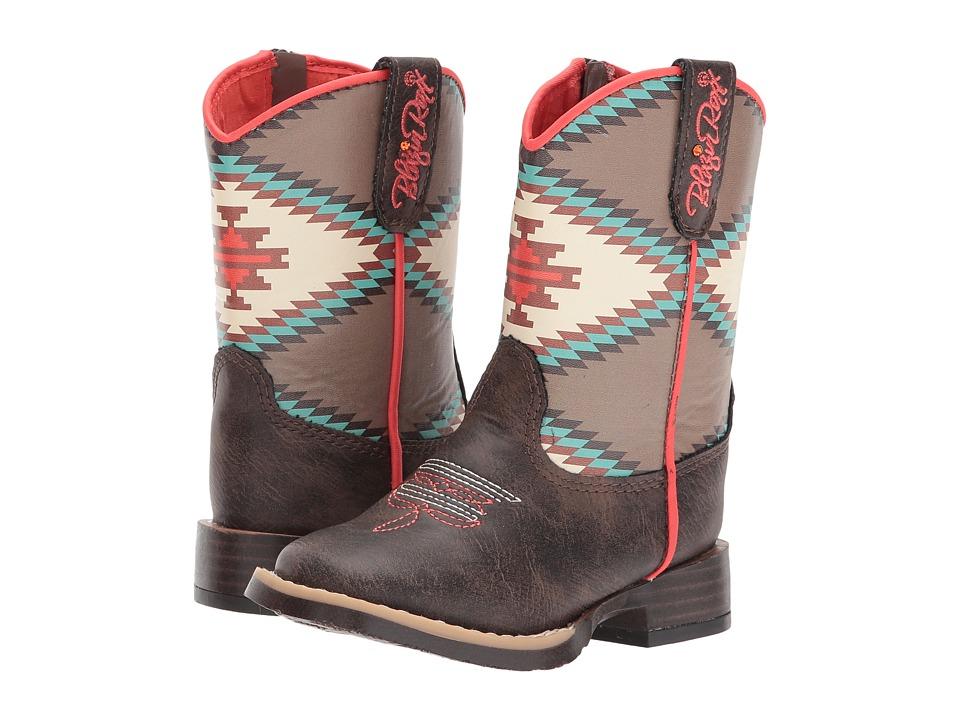 Blazin Roxx Emily (Toddler) (Brown/Cream) Girls Shoes