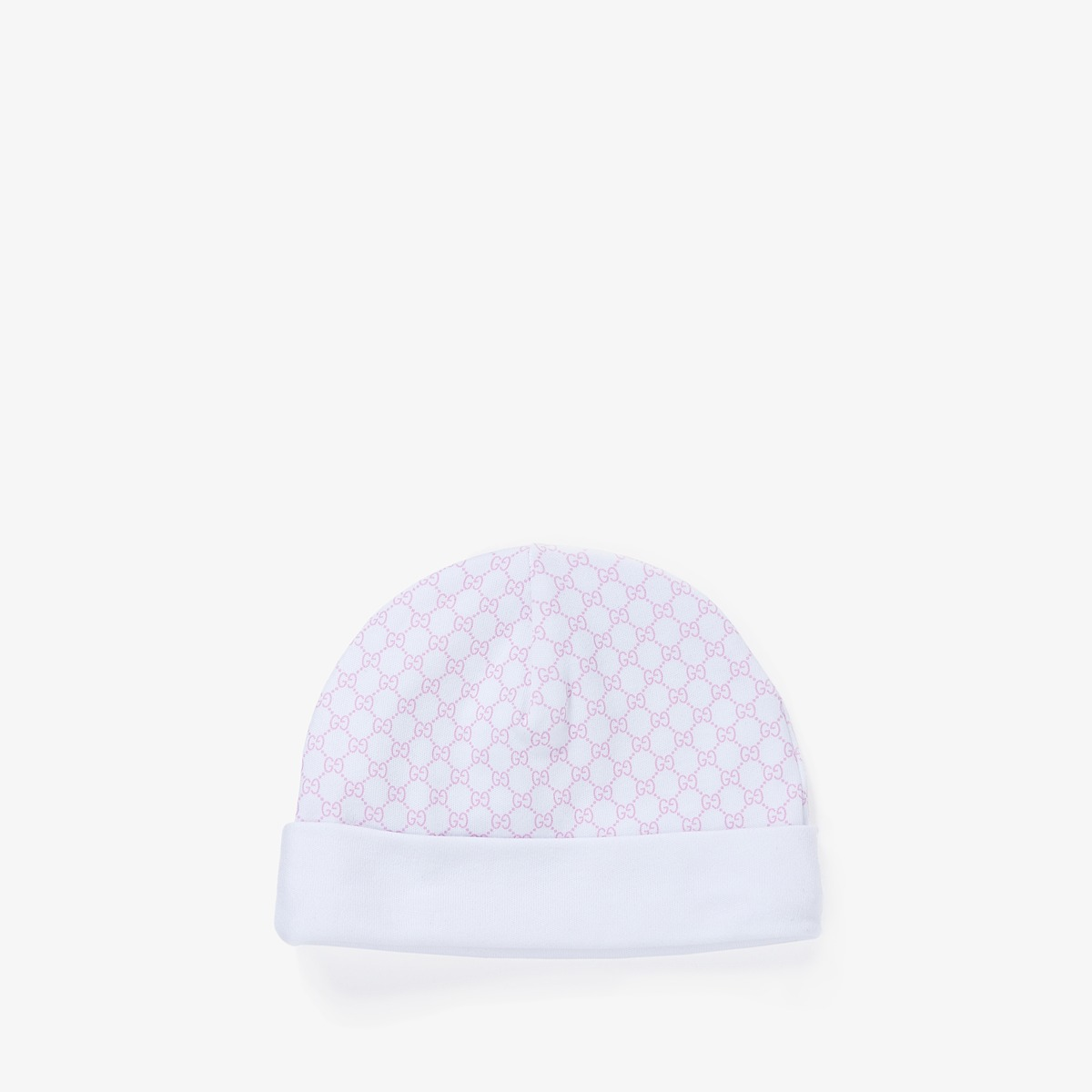 Gucci Kids - Hat 3221233K107 (Infant/Toddler) (White/Pink) Caps