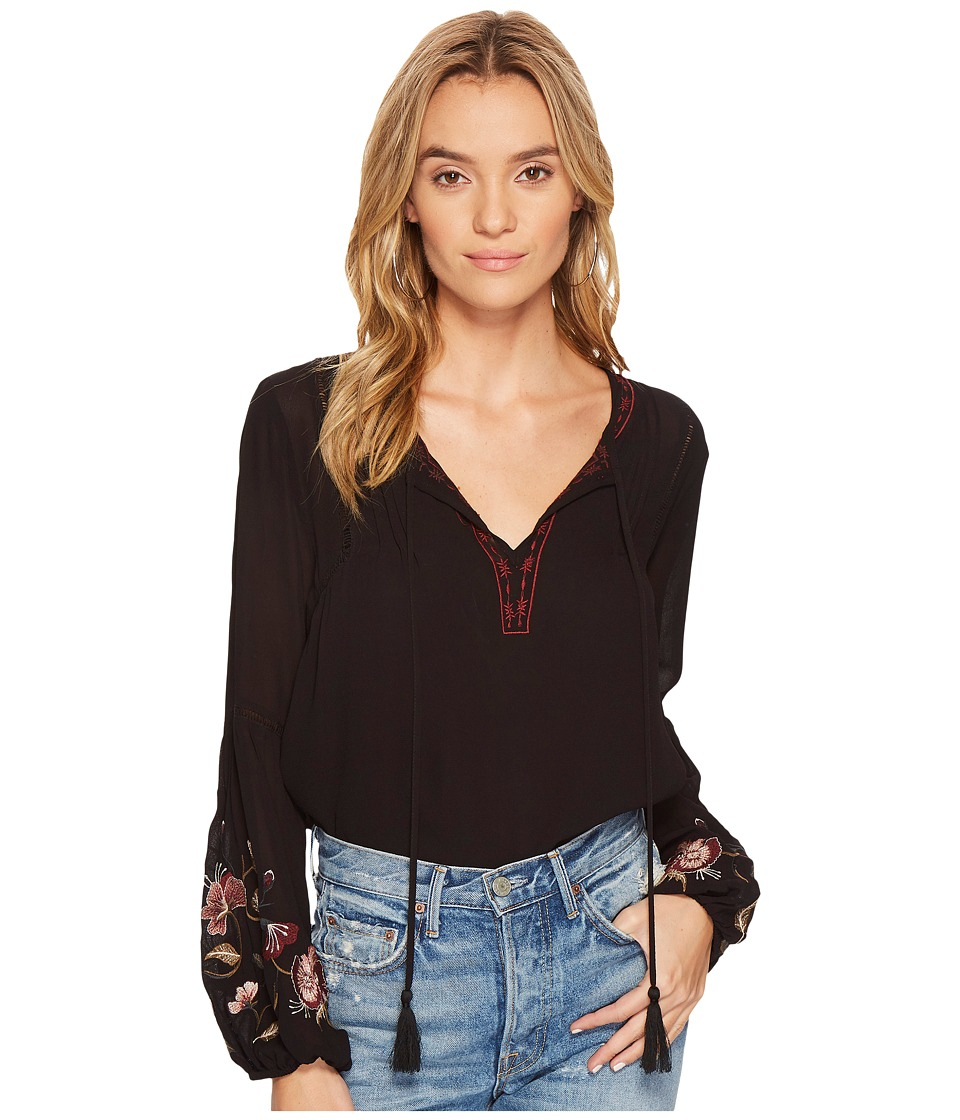 ASTR the Label - Christy Top (Black) Womens Clothing