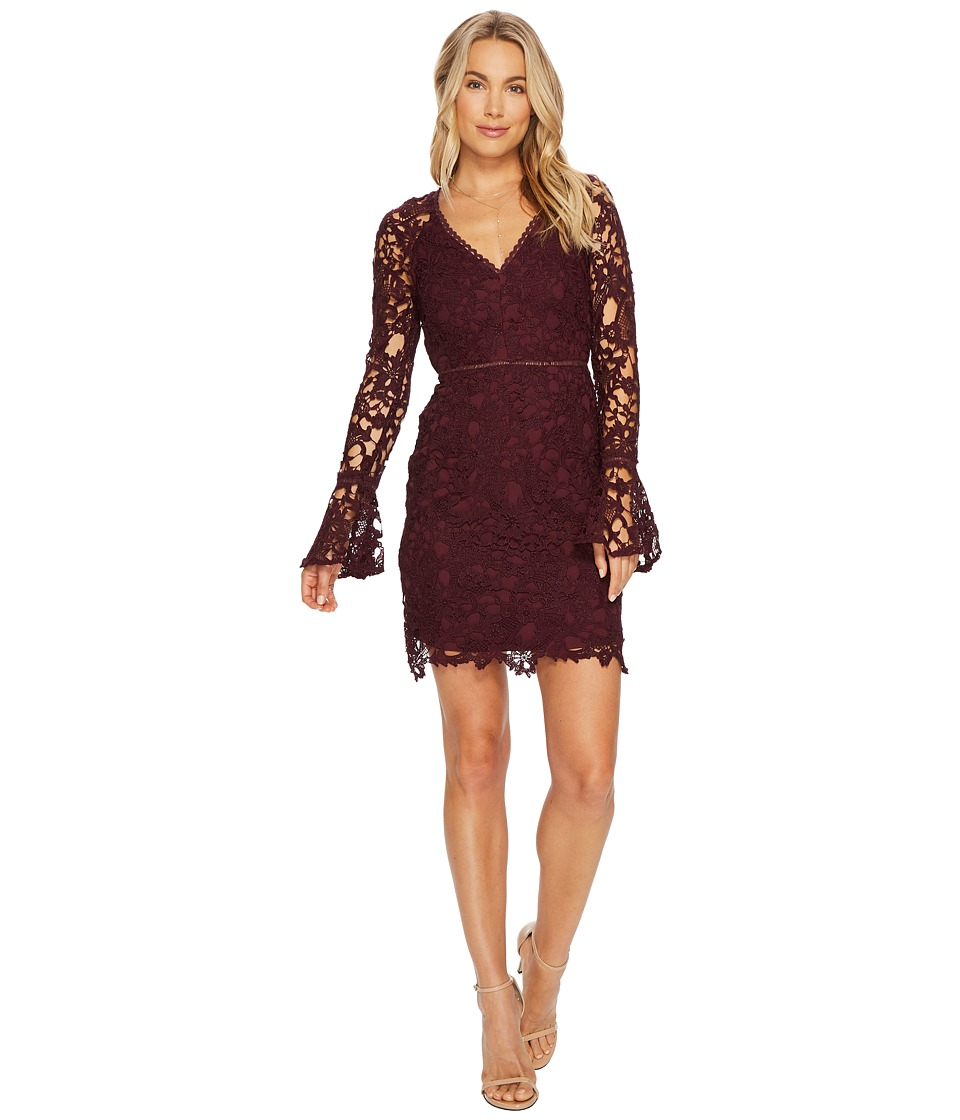 ASTR the Label Juliette Dress (Wine) Women