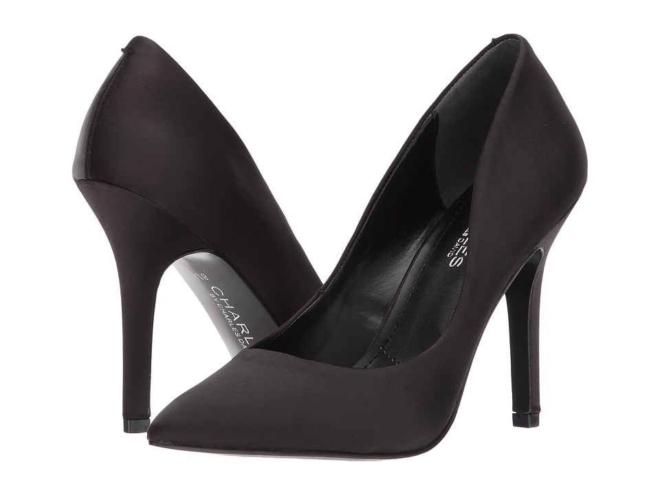 Charles by Charles David Maxx (Black Satin) High Heels
