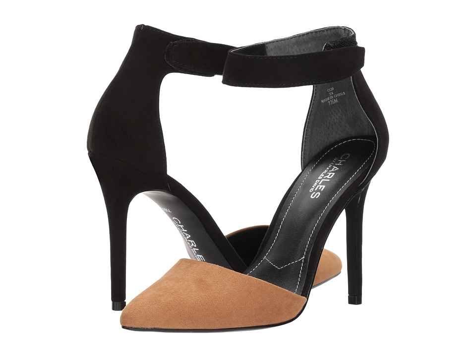 Charles by Charles David Pointer (Black/Taupe Microsuede) Women
