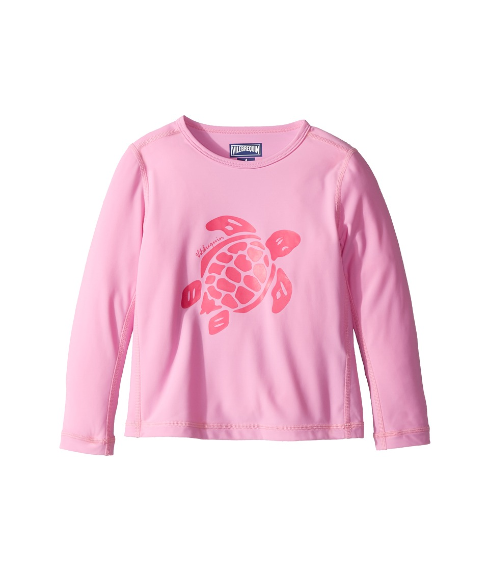 Vilebrequin Kids Anti UV Rashguard (Toddler/Little Kids/Big Kids) (Pink) Girl