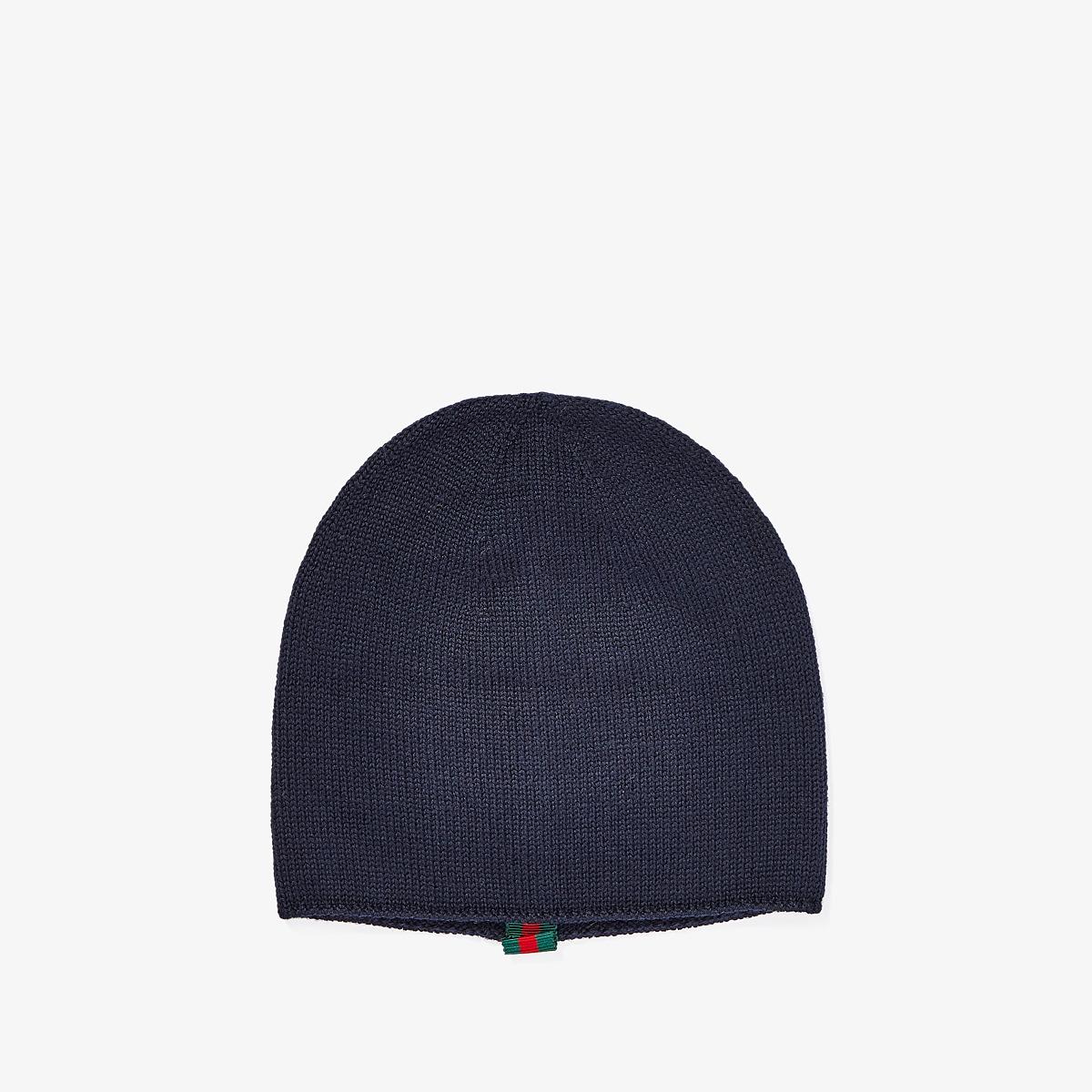 Gucci Kids - Hat 4594314K638 (Little Kids/Big Kids) (Black) Caps