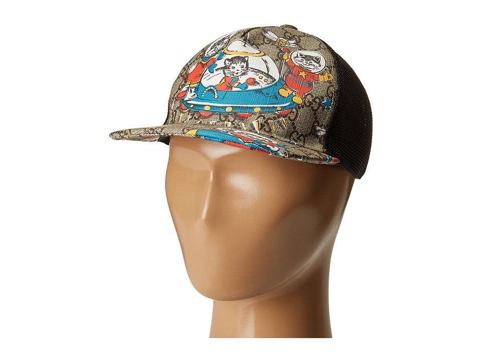 Gucci Kids - Hat 4817573HC48 (Little Kids/Big Kids) (Cocoa) Caps