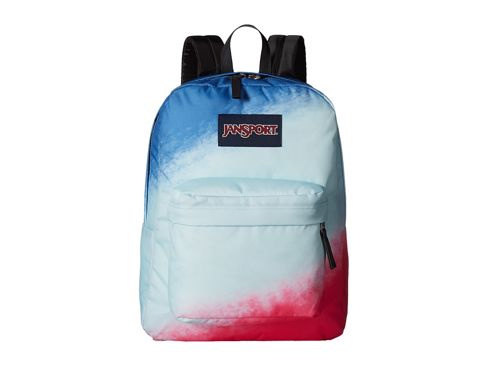 JanSport High Stakes (Turkish Ocean Diagonal Ombre) Backpack Bags