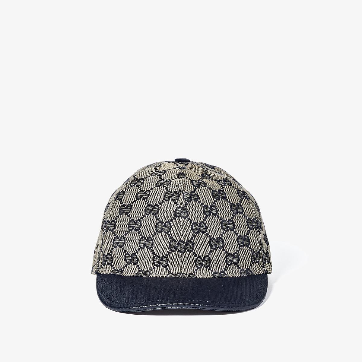 Gucci Kids - Hat 411771KQWW0 (Little Kids/Big Kids) (Beige/Blue/Blue) Caps