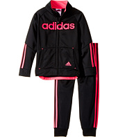 adidas Kids - Linear Tricot Jacket Set (Toddler/Little Kids)