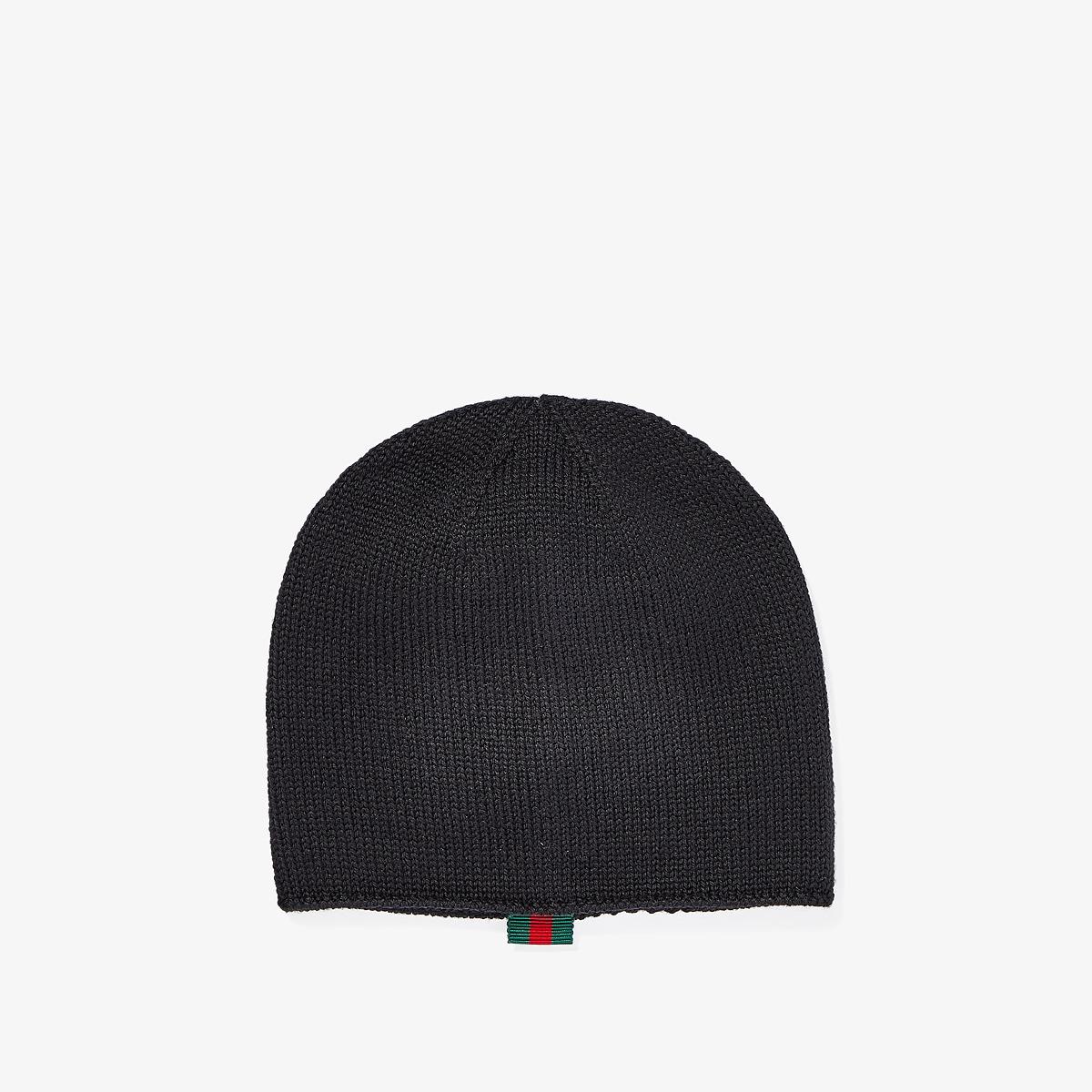 Gucci Kids - Hat 4735673K706 (Infant/Toddler) (Black) Caps