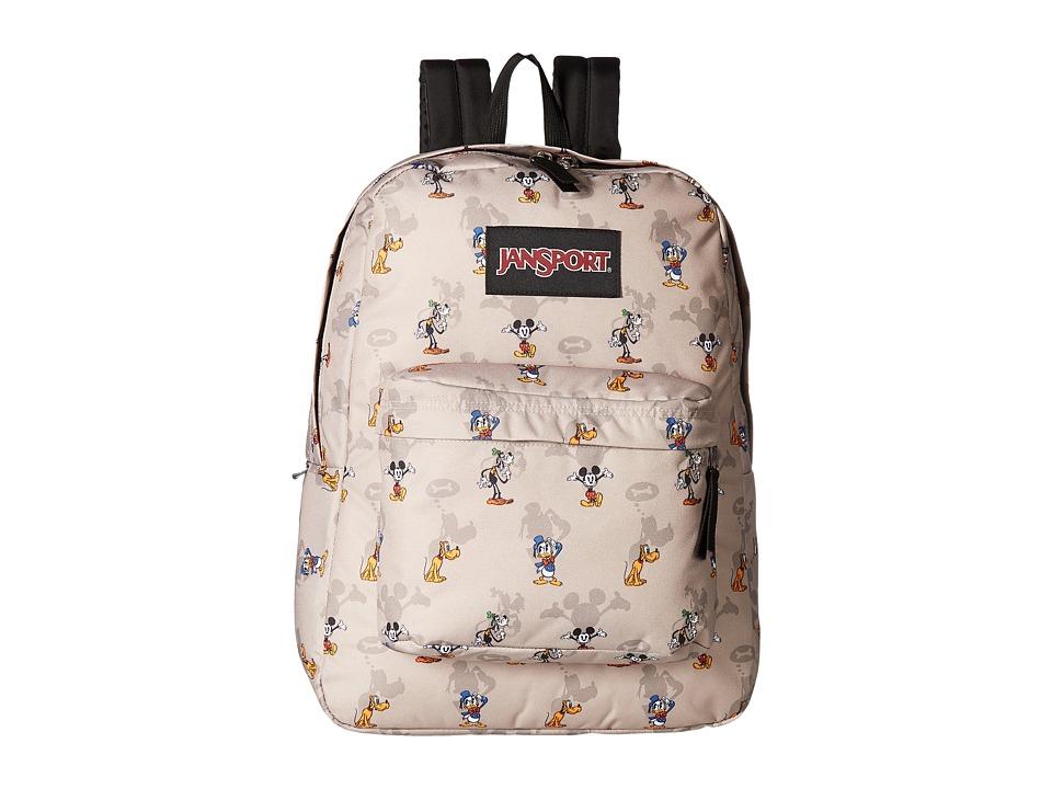 JanSport Disney SuperBreak (Disney Fab Shadow) Backpack Bags