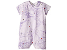 Versace Kids Barocco Lady Bug Print Collar Romper (Infant)