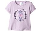 Versace Kids Short Sleeve Robot Logo T-Shirt (Infant)