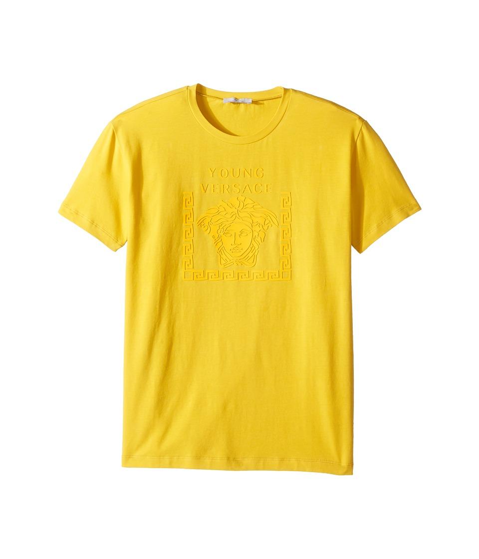 Versace Kids - Short Sleeve Medusa Logo T-Shirt