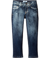 Versace Kids - Faded Denim Pants (Toddler/Little Kids)