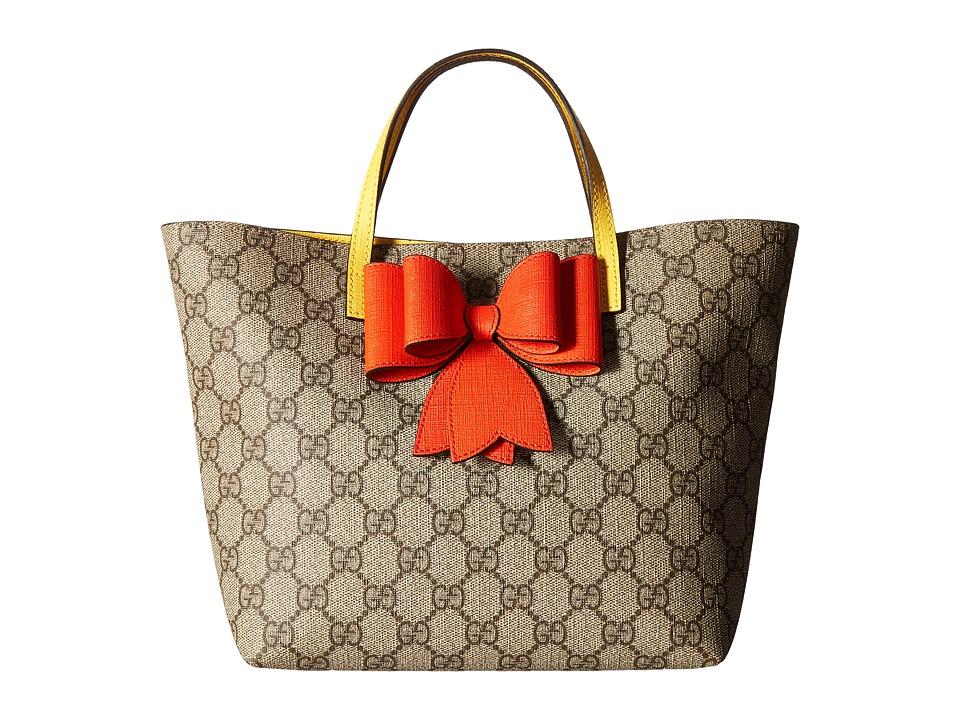Gucci Kids - Handbag 457232K6RTN (Little Kids/Big Kids) (Brown/Orange/Yellow) Handbags