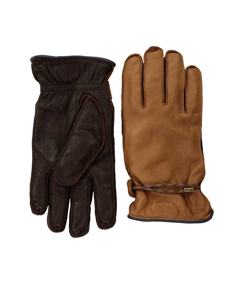 Hestra Granvik (Cork/Espresso) Dress Gloves